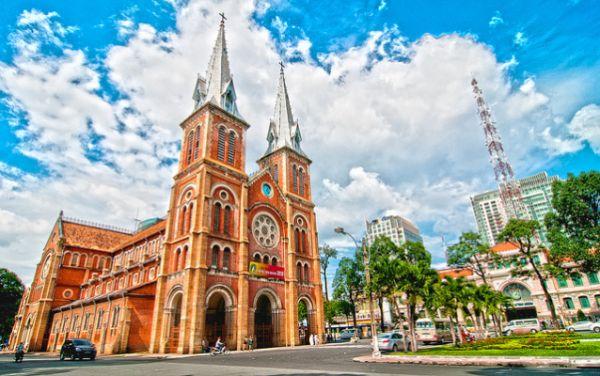 Khu vực Nhà thờ Đức Bà