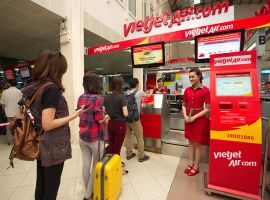 Check-in online Vietjet Air