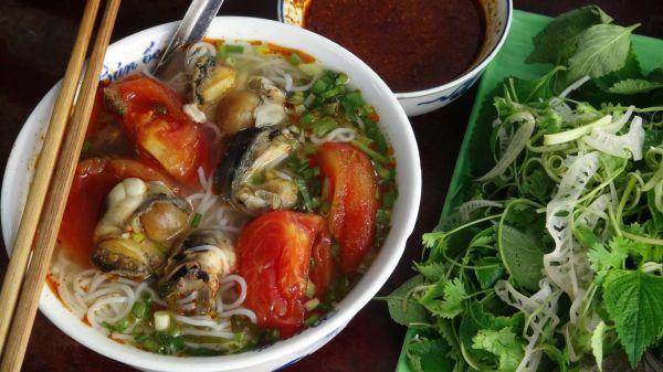 Bún ốc ngõ chợ Đồng Xuân