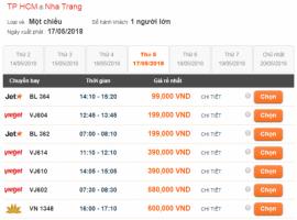 Đặt vé máy bay Vietjet Air qua mạng